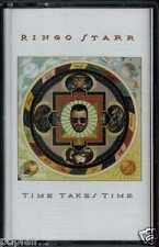 RINGO STARR - TIME TAKES TIME 1992 EU CASSETTE JEFF LYNNE'S ELO THE BEATLES