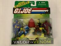 GI Joe Hasbro 2001 Valor Vs Venom Alley Viper II And Cobra Viper Action Figures