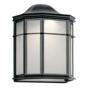 Kichler Kent Outdoor Wall Sconce LED, Black - 49898BKLED