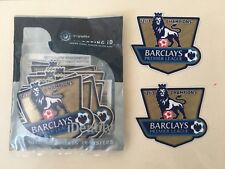 Manchester Utd - Barclays Premier League Champions 2012/13 -Shirt Sleeve Patches