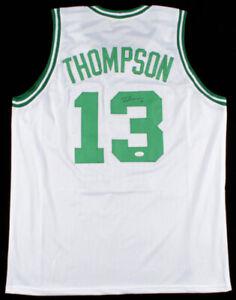 Tristan Thompson Signed White Boston Celtics Jersey (JSA COA) NBA Champion 2016