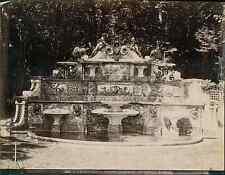 L.P. France, Versailles, grand Trianon, le buffet  vintage albumen print. Tira