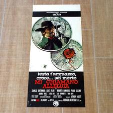 MI CHIAMANO ALLELUJA locandina poster affiche George Hilton Q89