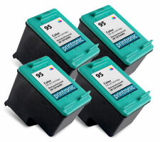 4pk Printronic For hp 95 C8766WN Color Ink Cartridge
