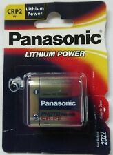 Panasonic CRP2 Lithium Battery 6V Other Reference Numbers CR223. BL223, K223