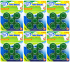 House Care Green Toilet Bowl Blocks Clean & Fresh, 5 Ct. (Pack of 6)