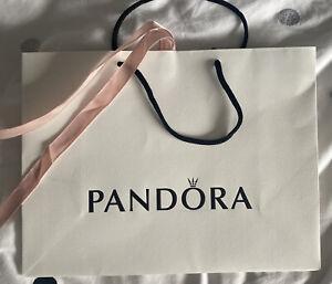 Pandora Gift Bag Medium with Pink Ribbon