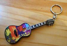 The Beatles Acoustic 10cm Wooden Tribute Guitar Key Chain #2