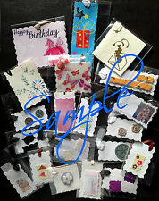 20 Handmade ALL OCCASION GIFT TAGS Various Sizes & Designs for All Size Presents