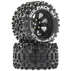 Duratrax Six Pack MT 2.8 Mounted Tires Black 14mm Hex (2)