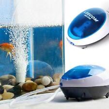 3W Air Pumps Aquarium Fish Tank Oxygen Air Pump High Energy Efficient Discount