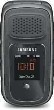 Samsung Rugby 4 SM-B780A Cell Phone (AT&T) Military Grade RUGGED IV ~Black~