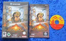 Sphinx und die verfluchte Mumie, Nintendo GameCube Spiel, OVP Anleitung