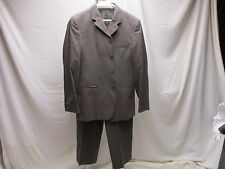 Emporio Armani Men's Suit 40US Made in Italy 4 Button Original Price over $1400