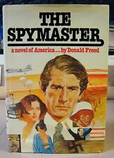 The Spymaster by Donald Freed Signed Inscribed 1st Ed. Arbor House (1980 HC)