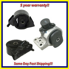 Fits: 1999-2000 Hyundai Elantra 2.0L Engine Motor Mount Set 3PCS for Auto Trans.