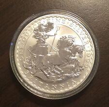 1999 Silver Britannia 1 Oz Coin BU Great Britain Low Mintage - Very Rare & Nice!