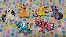 DECORAZIONI Commestibili per Cupcake - 12 My Little Pony-Misto Decorazioni per Pasta di Zucchero