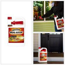 Home Insect Control Ants Roaches Flea Ticks Pest Killer Spray Rtu Bug Stop 1-Gal