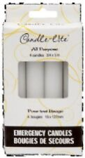 "Candle Lite 16 Pack, 3/4"" x 5"", White, Household Emergency Candles."