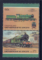 UNION ISLAND LOCO 100 CLASS Z LOCOMOTIVE UK STAMPS MNH