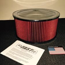 14x6.5 Air Cleaner Filter Assembly Valiant Mopar Chrysler V8 360 Replaces K&N
