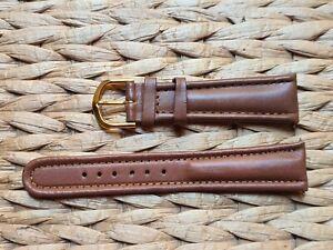 BRACELET DE MONTRE Watch band Cuir Véritable 20mm Marron /MG05
