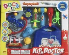 Play Doctor Set Medical Kit Kids Pretend Toy Role Playset Case Educational