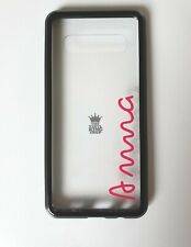 2 x Personalised Name Stickers - Love Island Style for Phone Mobiles Samsung S10