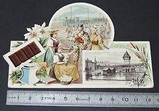 CHROMO 1890-1910 CHOCOLAT SUCHARD SUISSE LUCERNE LUZERN SCHWEIZ