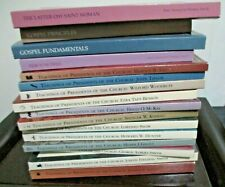 16 Book Lot Teachings of Presidents of The Church Mormon LDS Latter Day Saints