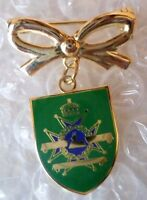 Sherwood Foresters (Notts & Derby Regiment) Sweetheart Brooch Badge (ORG*)