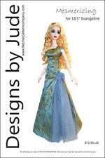 Mesmerizing Poupée Vêtements Couture Motif Pour 18.5 Evangeline Ghastly Tonner