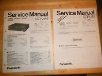 panasonic sl-pd365  cd changer  arcade  video game  owners manual