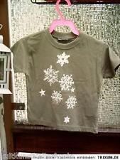 ● fantasy kinder shirt mit eiskristallen süß 92 AZO farben frei made in nürnberg