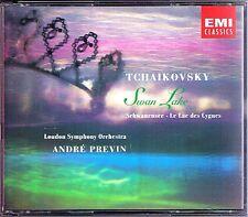 Andre PREVIN: TCHAIKOVSKY Swan Lake IDA HAENDEL 2CD EMI Schwanensee London Sym