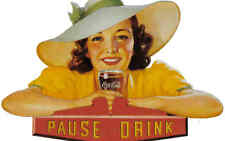 Coke Coca Cola Postcard Advertising Art 6300-43