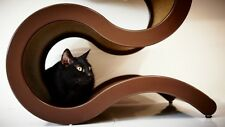 Small CurvyNest by Catswall Design. Modern Curved Cat Tree for Cool Cats