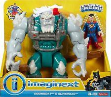 Imaginext DC SUPER FRIENDS SUPERMAN-DOOMSDAY & * Nuovo di Zecca *