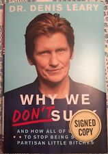 AUTOGRAPHED DENIS LEARY book Why We Don't Suck...Signed