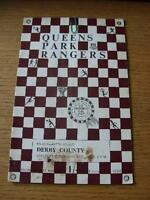07/02/1970 Queens Park Rangers v Derby County [FA Cup] (Heavy Creased, Folded, W