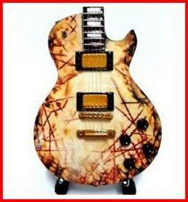 RAMMSTEIN GUITARE MINIATURE ! RICHARD KRUSPE RZK II Metal Industriel Rock Heavy