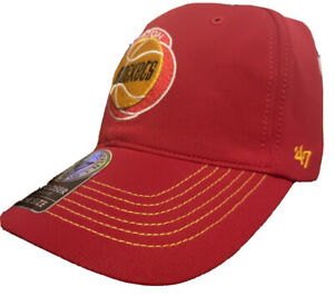 NBA Houston Rockets HARDWOOD CLASSIC red Cap game time closer hat Fitted NEW