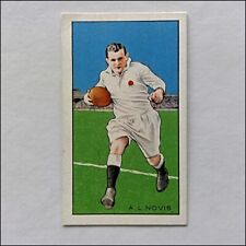 Gallaher Champions 34 A.L. Novis Rugby Cigarette Card (CC21)