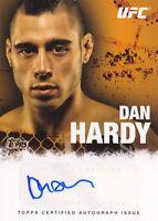 2010 Topps UFC Autographs #FADH Dan Hardy Auto