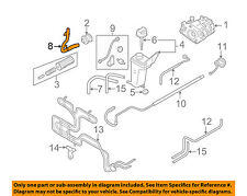 AUDI OEM 2008 RS4-Power Steering Suction Hose 8E0422887AE