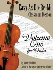 Easy As Do - Re - Mi : Viola Book One by Jennie Klim (2014, Paperback)