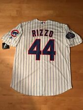 Anthony Rizzo #44 Chicago Cubs World Series Champions Men's Jersey Size Large