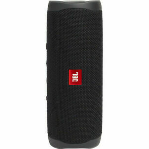JBL Flip 5 Portable Waterproof Bluetooth Speaker Black (JBLFLIP5BLKAM)