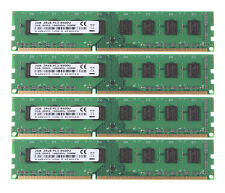New 8GB 4X 2GB CPU PC3-8500 2Rx8 DDR3 1066Mhz 240PIN Desktop Memory DIMM RAM CL7